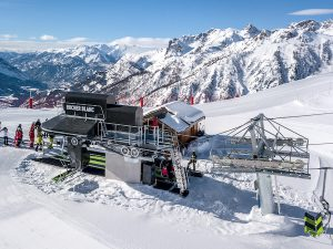 Télésiège Mi7 Serre-Chevalier - Rocher Blanc